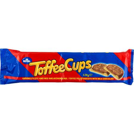 Toffee cups