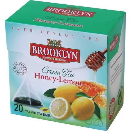 Grønn te Brooklyn 20 poser, Honey-lemon