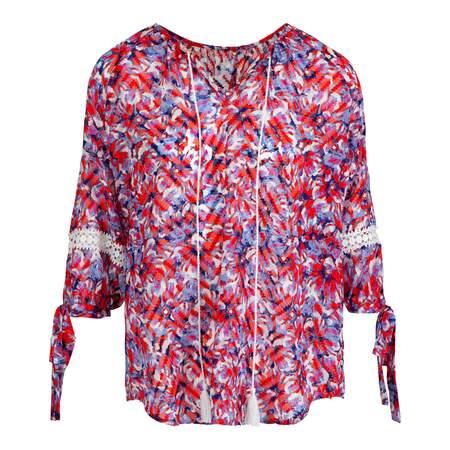 Bluse Flower str S-XL
