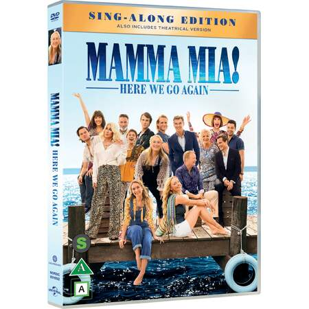Mamma Mia! Here we go again DVD