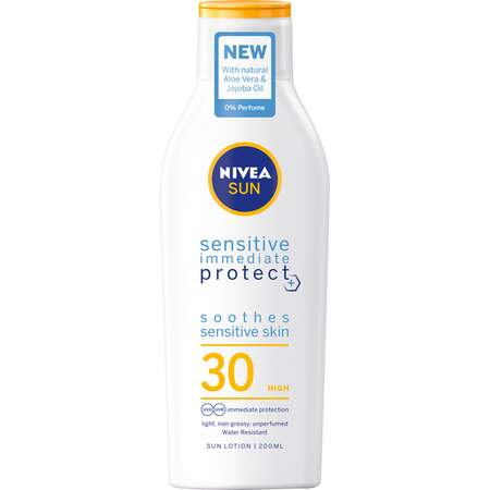 Sensitive Soothing Sun Lotion SPF 30, 200 ml