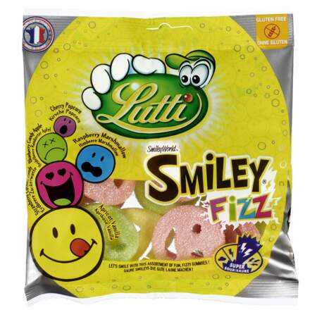 Smiley Fizz 90 g Lutti